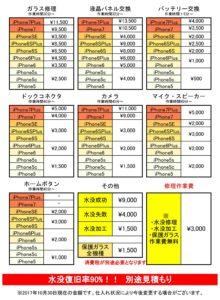 鳥取駅前店価格表ページヘ移動