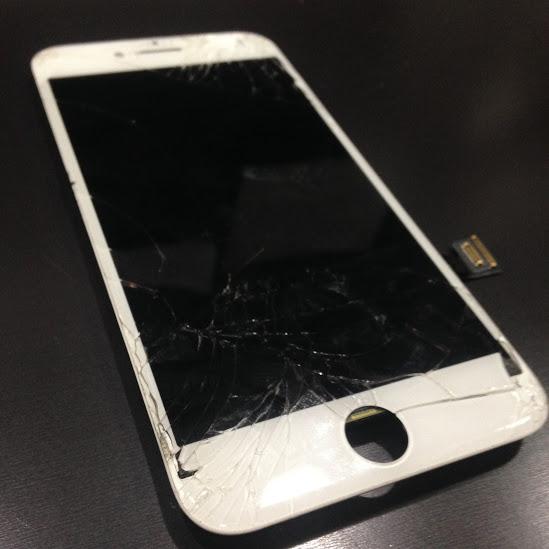 画像アイフォン6液晶パネル交換