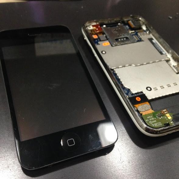 画像アイフォン3Gパネル