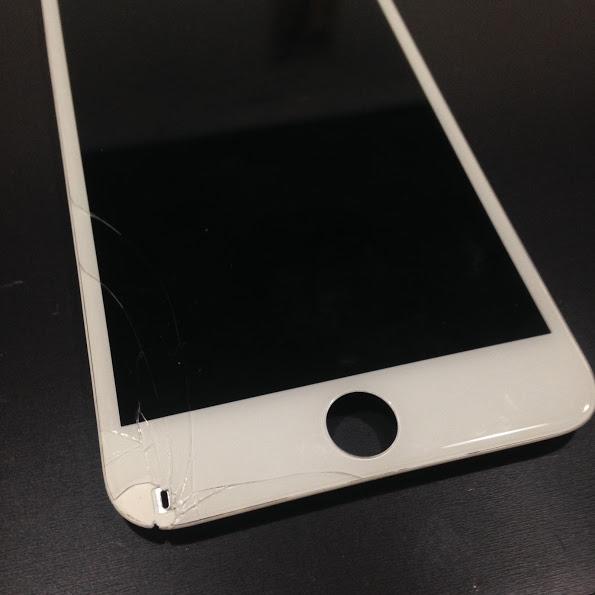 画像アイフォン6S割れたパネル