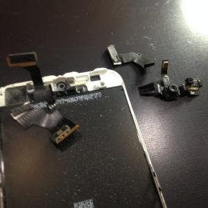 アイフォン5パネルとセンサー
