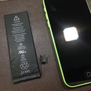 アイフォン5Cバッテリー