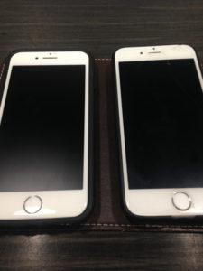 アイフォン8と6